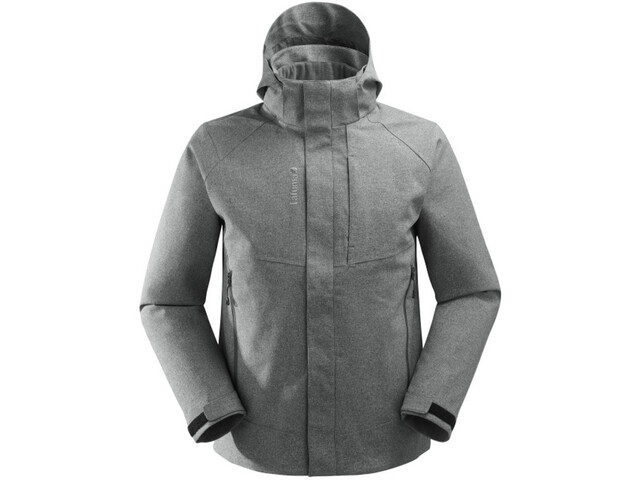 Lafuma Track Loft Veste 3 en 1 Homme, heather grey/black